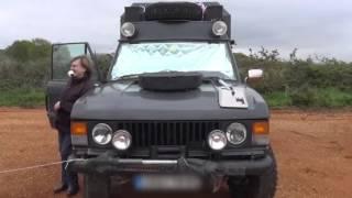 Download Claire et André: Mongolie, Kazakhstan… avec leur Range Rover aménagé! Video