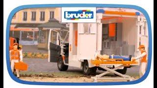 Download MB Sprinter Ambulanz mit Fahrer – 02536 – Bruder Spielwaren Video