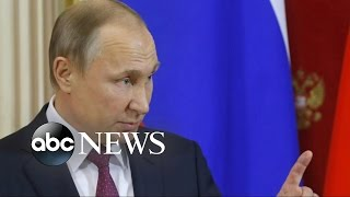 Download Putin Accuses Obama Administration of Spreading False Rumors to Undermine Trump Video