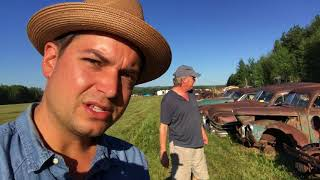 Download Junkyard cars and Summer farm auction! come along with us! Video