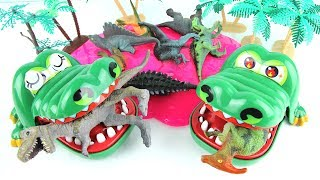 Download Crocodiles Eat Dinosaurs! GiantDinosaurfinallyhadrevengeonCrocodiles! Fun Toy Animation kids. Video