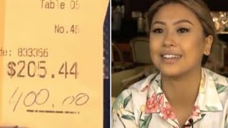 Download A Couple Left This Waitress A $400 Tip But What They Did When They Returned Blew Her Away Video