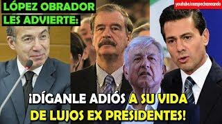 Download López Obrador ¡No más pensión a Calderón, Peña y Fox! - Campechaneando Video