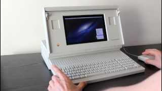 Download Macintosh Portable running OS X Video