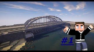 Download City Build Timelapse - Modern Bridge - #1 [Minecraft] [Hartey] [German] [HD] Video