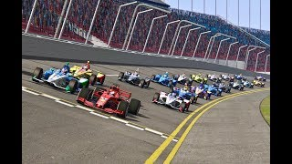 Download Ferrari F1 2018 vs All IndyCar 2018 - Daytona Speedway Video