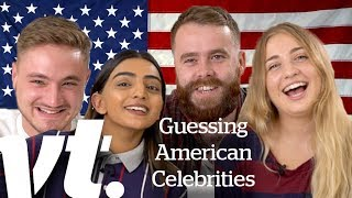 Download British People Guessing American Celebrities | VT Challenges Video