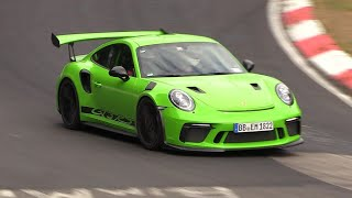 Download Porsche 991.2 GT3 RS - Exhaust SOUNDS on the Nurburgring! Video