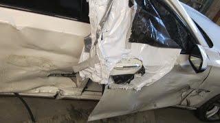 Download BMW 7. A little body repair. Небольшой ремонт. Video