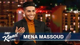 Download Mena Massoud on Being Egyptian & Canadian, His First Pet & New Show Video