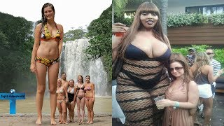 Download Top 10 Tallest Women in the World You Wouldn't Believe Actually Exist World's Largest Women Ever Video