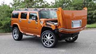 Download We Be Autos Reviews a 2006 Hummer H2 Special Edition~Fusion Orange~26″ Dub Rims~5,684 Miles! Video