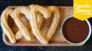 Download How to Make Churros and Chocolate (and it's almost VEGAN!) | Cupcake Jemma Video