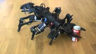 Download Scorpion Robot - Hexapod Robot - APod Video