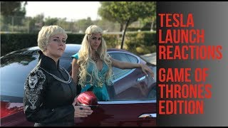 Download TESLA P100D LAUNCH, GAME OF THRONES EDITION Video