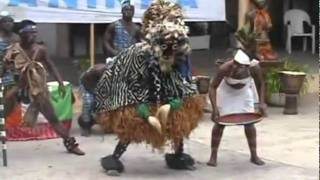 Download African Mask Dance GLAH OF COTE D'IVOIRE by AANINKA Video
