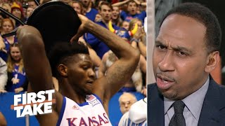 Download Stephen A. reacts to the brawl at Kansas vs. Kansas State | First Take Video