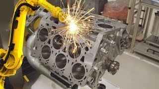 Download GERMAN CNC Technology - VOLKSWAGEN Super Car Engine Body CNC Lathe Video