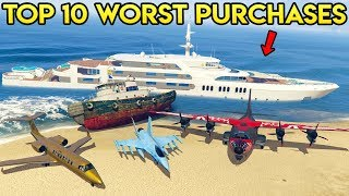 Download TOP 10 WORST PURCHASES IN GTA ONLINE (Updated) Video