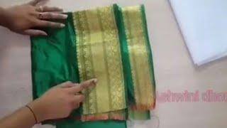 c0be03ec493c1 Download Easy Paithani blouse back neck design cutting stitching