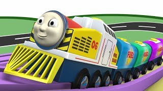 Download Wooden Thomas - Toy Train - Trains for Kids - Thomas The Train - Train Kids - Cartoon - Toy Factory Video