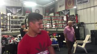 Download mikey garcia invites childhood friend to camp for a visit EsNews Boxing Video