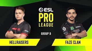 Download CS:GO - FaZe Clan vs. HellRaisers [Dust2] Map 2 - Group B - ESL EU Pro League Season 10 Video