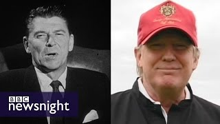 Download How does Donald (Trump) compare to Ronald (Reagan)? - BBC Newsnight Video