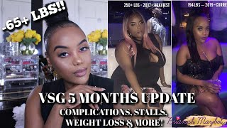 Download VSG UPDATE: MONTH 1 TO 5 | COMPLICATIONS, MEASUREMENTS, STALLS & MORE! Video