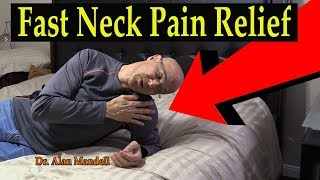 Download 60 Second Neck & Roll Stretch for Fast Relief of Neck Pain & Pinched Nerve - Dr. Mandell, D.C. Video