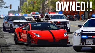 Download COPS MESSING WITH THE WRONG LAMBORGHINI DRIVER!! *COMPILATION* Video