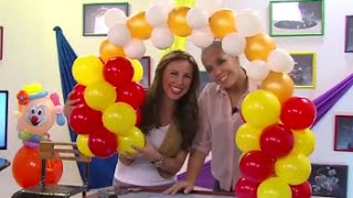 Download Globoflexia- como hacer un Arco con Globos Lincou- Hogar Tv por Juan Gonzalo Angel Video