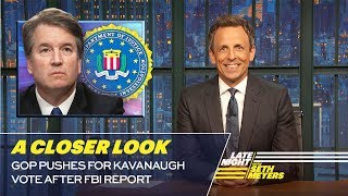 Download GOP Pushes for Kavanaugh Vote After FBI Report: A Closer Look Video