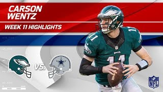 Download Carson Wentz Leads Philly to Victory vs. Dallas! | Eagles vs. Cowboys | Wk 11 Player Highlights Video