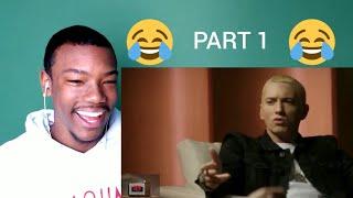 Download EMINEM FUNNY AF!!! PART 1 & 100 SUBSCRIBERS APPRECIATION - Top: Eminem ″FUNNIEST″ Reactions Reaction Video