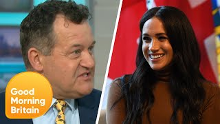 Download Meghan Markle ″Had No Idea What She Was Getting Into″ Says Paul Burrell | Good Morning Britain Video