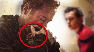 Download ¿Por que Razón Tony Stark ''Iron-Man'' Llora en el Trailer de los vengadores Infinitywar? Video