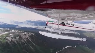 Download 360° Floatplane Journey to Crystal Lake in BC, Canada Video