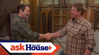 Download Nick Offerman's Woodworking Advice Video
