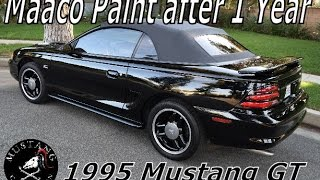 Download Maaco Paint Job 1 year later 1995 Ford Mustang GT Restoration Recap Video