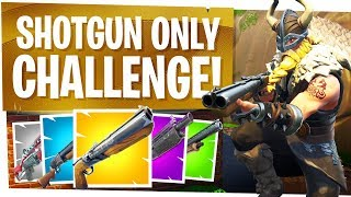Download SHOTGUN ONLY CHALLENGE in FORTNITE - Being a Pro in the Close Range! Video
