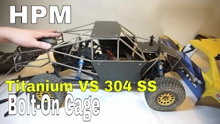 Download HPM Bolt-On Metal Cage For Axial Yeti Score Trophy Truck - Unbox and Install Video