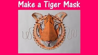 Download Arts and Crafts: How to make a Tiger mask. Video