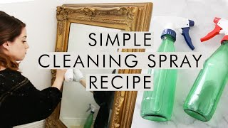 Download Safe & Effective Non-Toxic Cleaner Recipe | Glass Bottle Upcycle Video