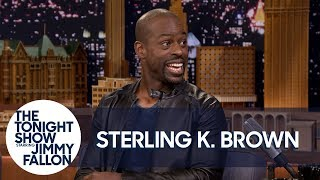 Download Sterling K. Brown Overdoes It with Baby Powder Sometimes Video
