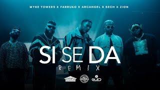 Download Myke Towers, Farruko, Arcangel, Sech & Zion - Si Se Da Remix (Video Oficial) Video