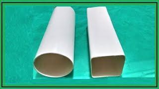 Download Como Deixar Tubo de PVC Quadrado Video