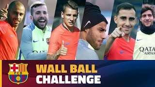 Download FC Barcelona – Wall Ball Challenge Video