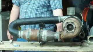 Download Much wind from a small turbocharger Video