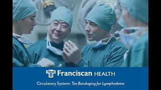 Download Circulatory System: Toe Bandaging for Lymphedema Video
